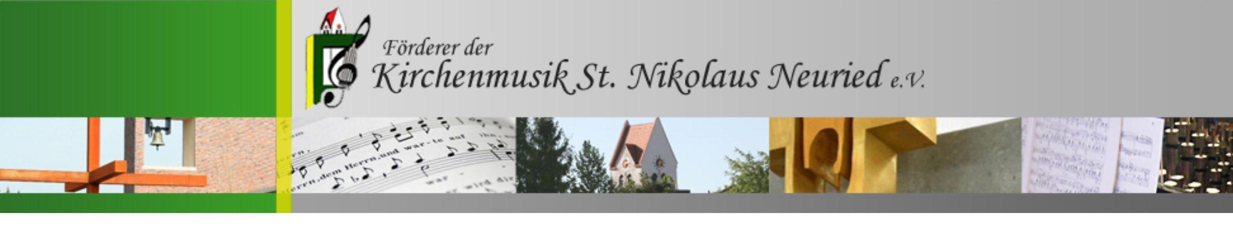 Förderer der Kirchenmusik St. Nikolaus Neuried e.V.